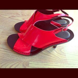 Alexander Wang Red Vero Cuoio Heels